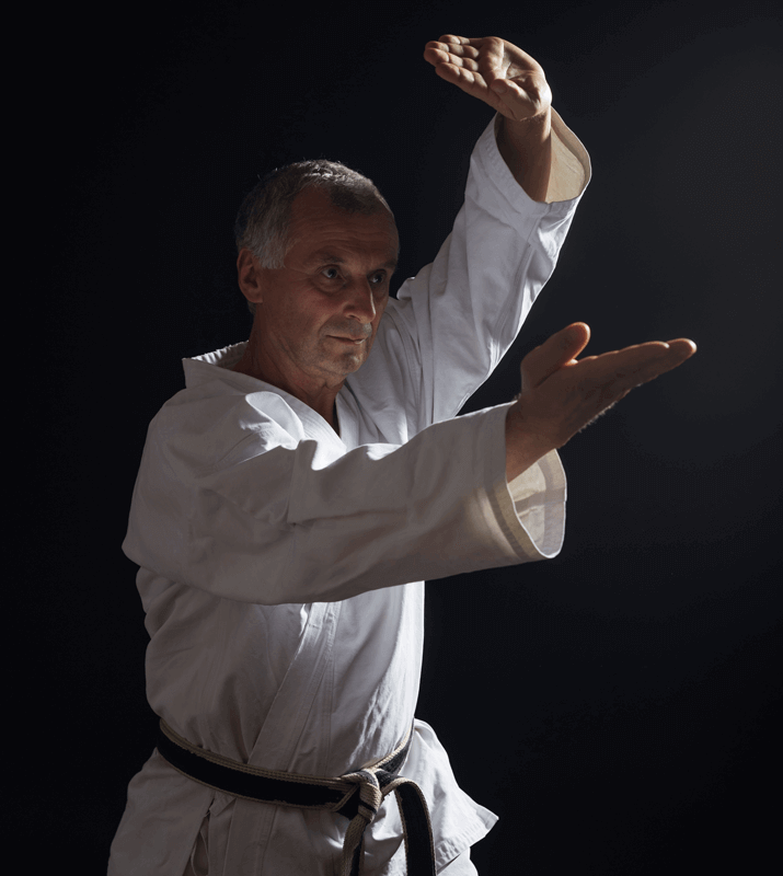 Martial Arts Lessons for Adults in Arvada CO - Older Man