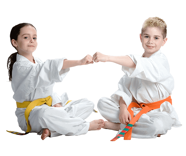 Martial Arts Lessons for Kids in Arvada CO - Kids Greeting Happy Footer Banner