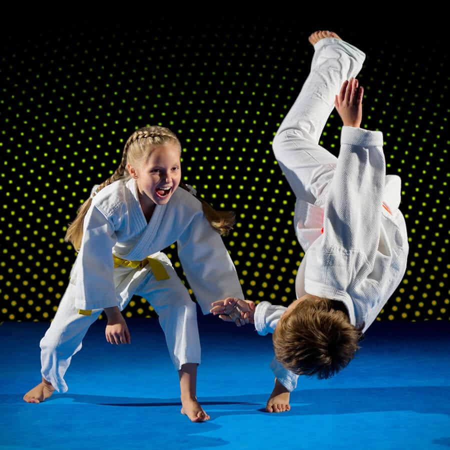 Martial Arts Lessons for Kids in Arvada CO - Judo Toss Kids Girl
