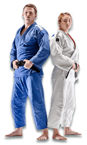 Brazilian Jiu Jitsu Lessons for Adults in Arvada CO - BJJ Man and Woman Banner Page