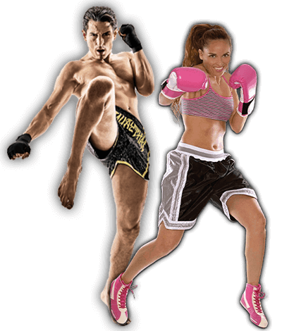 Fitness Kickboxing Lessons for Adults in Arvada CO - Kickboxing Men and Women Banner Page