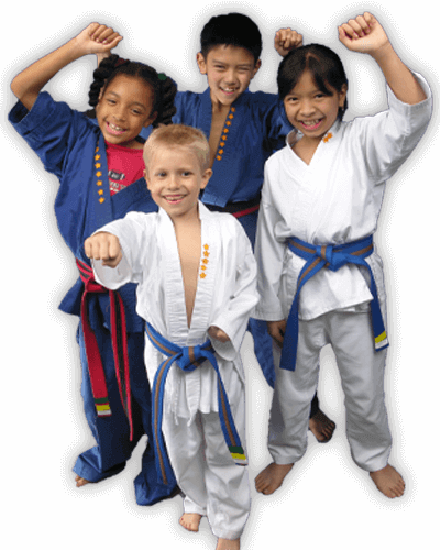 Martial Arts Summer Camp for Kids in Arvada CO - Happy Group of Kids Banner Summer Camp Page