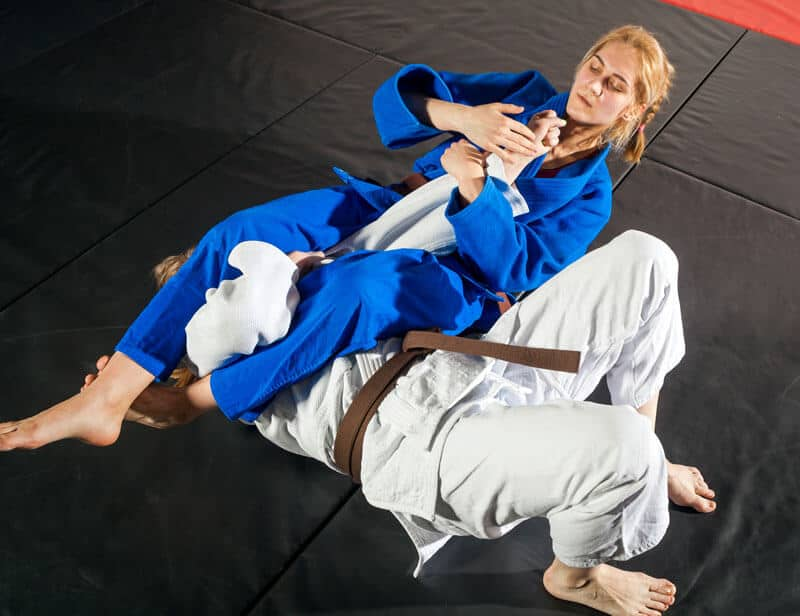 Brazilian Jiu Jitsu Lessons for Adults in Arvada CO - Arm Bar Women BJJ