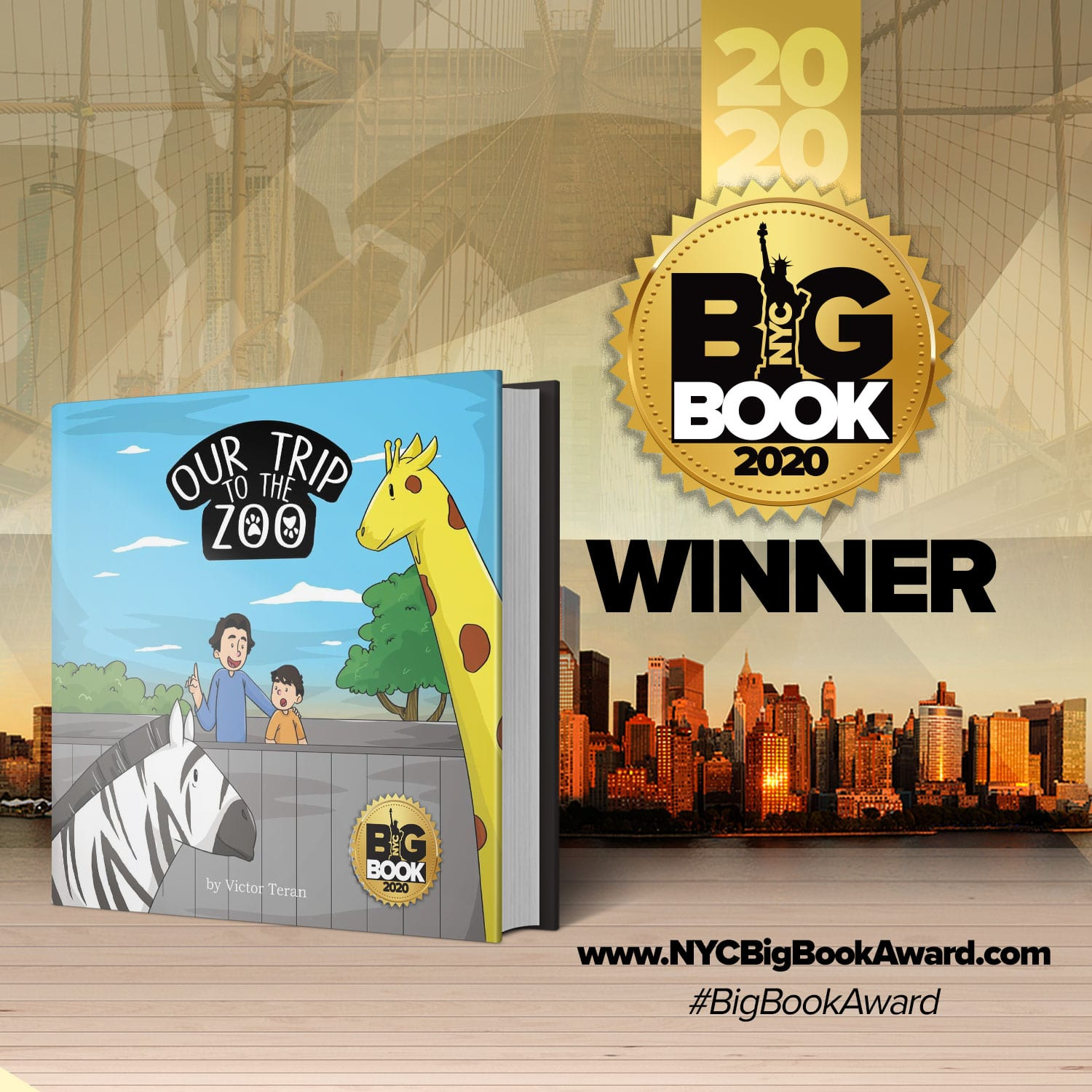 OUR TRIP TO THE ZOO' – 2020 NYC BIG BOOK AWARD WINNER