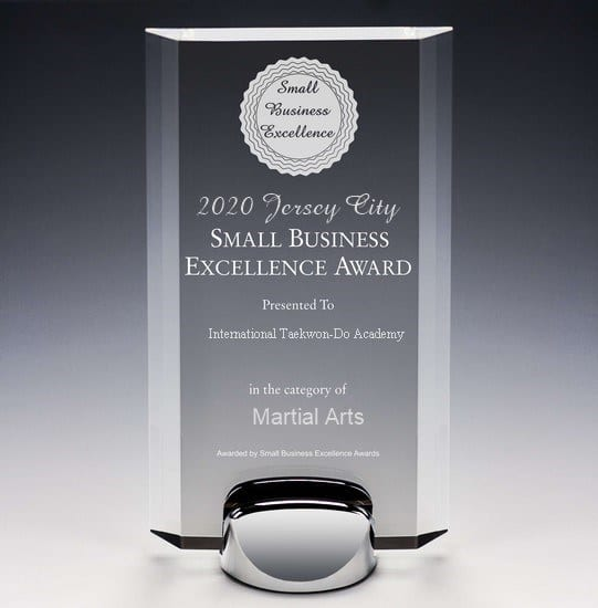 2020 JERSEY CITY SMALL BUSINESS EXCELLENCE AWARD