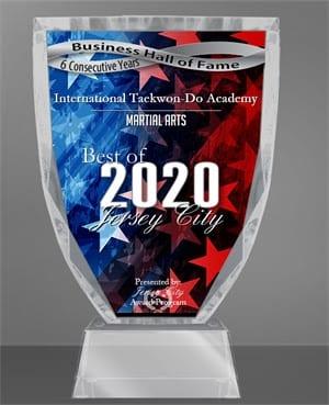 2020 BEST OF JERSEY CITY AWARD