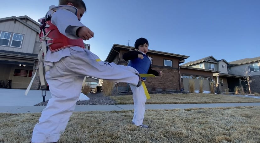 TEAM SPARTAN COMPETES IN THE WINTER U.S. NATIONALS TAEKWON-DO CHAMPIONSHIP 2021